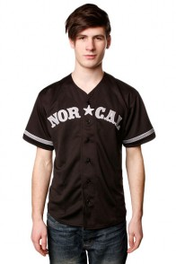 Рубашка Norcal Wild Pitch Baseball Jersey Black