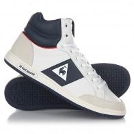 Кеды кроссовки высокие Le Coq Sportif Prestige Court Mid Sport Optical White/D