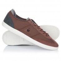 Кеды кроссовки низкие Le Coq Sportif Castillon Twill Cvs/Tech Nylon Ginger Br