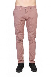 Штаны узкие Quiksilver Krandy Stretch Dusty Plum