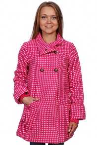 Пальто женское Animal Bouvier Long Coat Pink