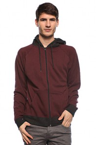 Толстовка Fallen Harlem Hood Burgundy/Charcoal Heather
