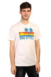 Футболка Bro Style Sunset White