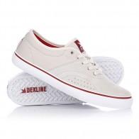 Кеды кроссовки низкие Dekline Bixby Clay/White