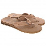 Шлепанцы Quiksilver Carver Suede Tan - Solid