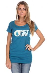 Футболка женская Picture Organic Basement Plush Blue Petrol