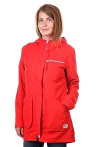 Куртка парка женская CLWR Bridge Parka Poppy Red, 1122051,  CLWR, цвет красный