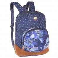 Рюкзак городской женский Roxy Fairness Perpetual Flower Blue