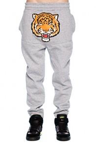 Штаны прямые унисекс Super Tiger Grey