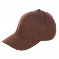 Бейсболка классическая TrueSpin Basic Baseball Brown/Coffee