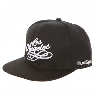 Бейсболка с прямым козырьком TrueSpin Los Angeles Black