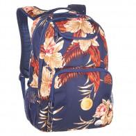 Рюкзак городской женский Roxy Shadow Castaway Floral Blue