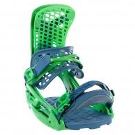 Крепления для сноуборда Burton Genesis Est Green Machine