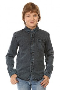 Рубашка детская Quiksilver Clackton Ls Yth Wvtp Niagara