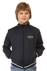 Ветровка детская Quiksilver Water Front Youth Jckt Navy Blazer