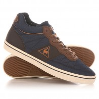 Кеды кроссовки высокие Le Coq Sportif Troca Mid Chambray Dress Blues