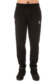 Штаны спортивные Le Coq Sportif Pant Bar Regular Brushed Black