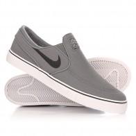 Слипоны Nike Zoom Stefan Janoski Slip Cnvs Cool Grey/Black/White