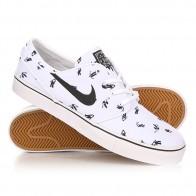 Кеды кроссовки низкие Nike Zoom Stefan Janoski Cnvs Prm White/Black