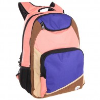 Рюкзак школьный женский Roxy Shadow Swell True Black
