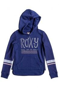Толстовка кенгуру детская Roxy Liquify G Otlr Blue Print