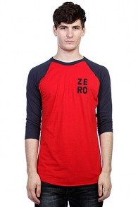 Лонгслив Zero Numero Jersey Red/Navy