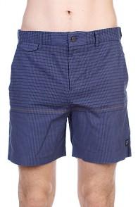 Пляжные мужские шорты Insight Vector Rain Walkshort Black Out Blue