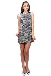 Платье женское Insight Lost Union Dress Floyd Black