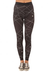 Леггинсы женские Picture Organic Leggins Neon Black