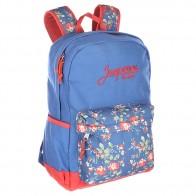 Рюкзак школьный Запорожец Цветочки Blue