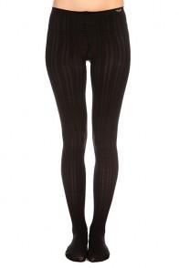 Колготки женские Roxy Footed Opaque Cable Tights True Black