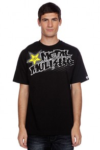 Футболка Metal Mulisha Rsbasics Tee Black