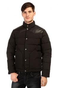 Пуховик Penfield Pelam Leather Yoke Down Jacket Black