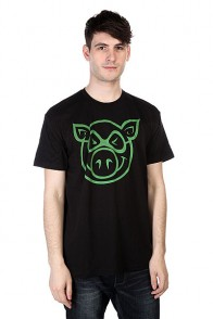 Футболка Pig Basic Slimfit Black