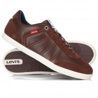 Кеды кроссовки низкие Levis Loch Dark Brown