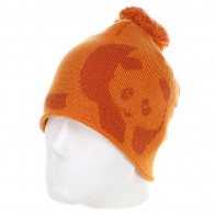 Шапка с помпоном мужская Enjoi Teeny Weeny Orange