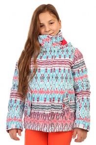 Куртка утепленная детская Roxy Jetty Girl Jk G Snjt Dixie Hawaiian Ocean