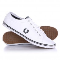 Кеды кроссовки низкие Fred Perry Kingston Leather White/Black