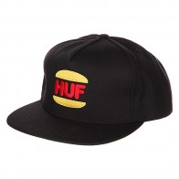 Бейсболка Huf DBC King Snapback Black