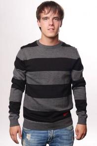 Свитер Fallen Cole Signature Striped Sweater Black/Charcoal
