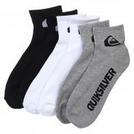 Носки средние Quiksilver 3pk Bold Logo Multi