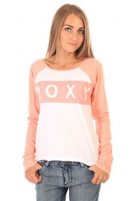 Лонгслив женский Roxy Love J Tees Peach Amber