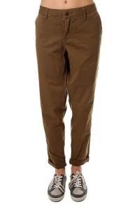 Штаны прямые женские Roxy Sunkissers Military Olive