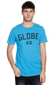 Футболка Globe Know Money Tee Neon Blue