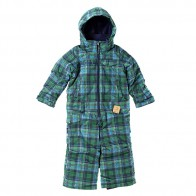 Комбинезон детский Burton Boys Ms Strikr O Pc Mascot Mason Plaid