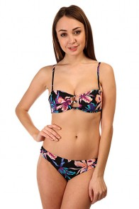 Купальник женский Roxy Knotted Bandeau J True Black Maui Ligh