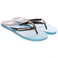 Вьетнамки Quiksilver Molokai Incline Sndl Black/Blue