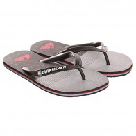 Вьетнамки Quiksilver Molokai Ag47 Re Sndl Black/Grey