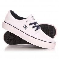 Кеды кроссовки низкие детские DC Trase Tx B Shoe White/Navy