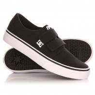 Кеды кроссовки низкие детские DC Trase V B Shoe Black/White